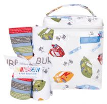 NASCAR® - BOTTLE BAG & BURP CLOTH