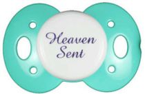 """Heaven Sent"" Posh Pacifier Binkys With Sass"