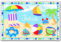 Personalized Placemat Summer Time