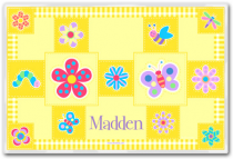 Personalized Placemat Flowerland