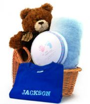 The Name Me Baby Boy Gift Basket
