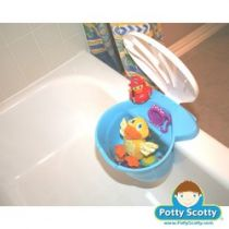 Baby Blue Tub Toy Organizer
