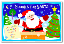 Personalized Placemat Christmas